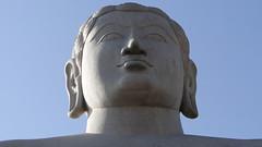 Shravanbelagola - Clean-cut statue of Lord Gomateshwara aka Bahubali