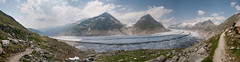 Aletsch Glacier (boscoppa) Tags: switzerland nikon panoramic glacier aletsch d300s
