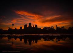 Dragon Cloud over Angkor Wat at Sunrise