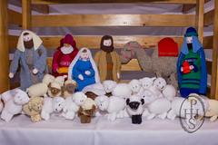 Knitivity or Knitted Nativity at St John The Baptist Church Dodworth (108) (PHH Sykes) Tags: church saint st john baptist knitted figures nativity the dodworth knitivity