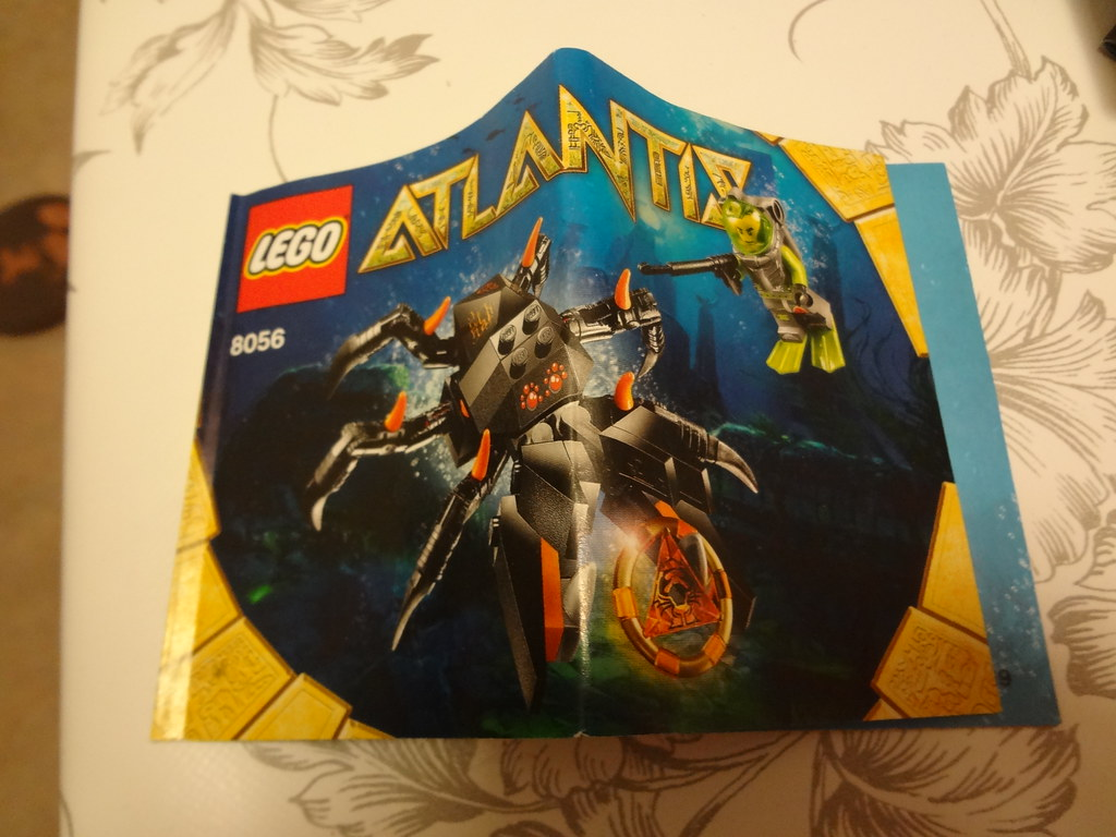 lego atlantis monster crab clash instructions