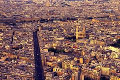 PARIS YELLOW LIGHT (klepher) Tags: city roof sky paris france color love high mood cityscape view place colorfull romantic lovely parisian peacefull clors eos7d klefer klepher