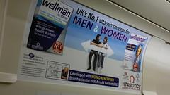 poster on the tube (lloydv33) Tags: con ripoff scam racket bullshit snakeoil wasteofmoney profiteering scaremongering unscientific