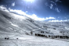 Hills of Snow (jrseikaly) Tags: people lebanon white snow jack photography hill valley arz hdr cedars seikaly arzz jrseikaly