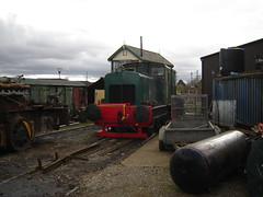 RH 412427 (rustonregister) Tags: paper shropshire cheshire diesel railway class locomotive society ltd scottie hornsby ruston rh bowater oswestry 88ds 412427