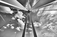 Ludwigshafen b&w 1 (rainerneumann831) Tags: ludwigshafen hochbrücke architceture blackwhite industrie abstrakt