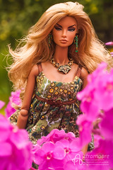 Angelica (astramaore) Tags: brazen beauty natalia blonde tan tanned integritytoys fashionroyalty royalty longhair necklace flowers astramaore 16 doll toy summer