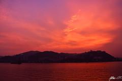 Sunset at The Chinese University of Hong Kong (Jethro ~ C.P.C) Tags: sunset pink blue purple cuhk hk hongkong hong kong chinese university nt