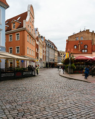 City streets of Riga / Stadt Straßen von Riga