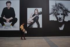 Portrait of Berlin, Wittenbergplatz, Berlin, Germany. (westport 1946) Tags: germany deutschland berlin wittenbergplatz ansbacherstr kadewe kaufhausdeswesterns 10789berlin tauentzienstr fabin kristin joel rakinlive portraitofberlin female pedestrian sidewalk pavement outdoor portraits kunst kunstwerk women streetart streetphotography streetportraits