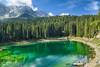 20160902_Dolomiti Lago di Carezza (Matteo Biguzzi [bigu77]) Tags: dolomiti dolomites landscape nature natura hdr sky beautiful unescoworldheritage lake laghi green clouds canon eos500d eosrebelt1i