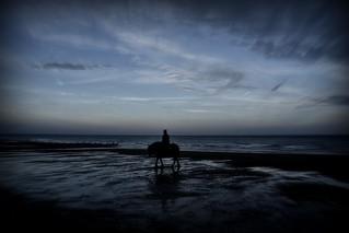 Rider on the shore (Explored)