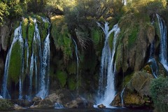 Kravica Waterfalls, Bosnia and Herzegovina. (chiaramaggio) Tags: around lookingup explore holiday summer paradise bosniaandherzegovina travelwater trip nature waterfalls