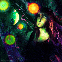 Home is where the heart is (Lemon~art) Tags: mannequin home moon otherworlds fantasy sciencefiction heart