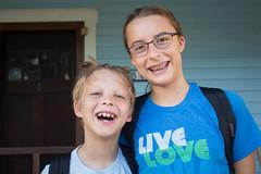 School Pictures (Stuart Borrett) Tags: family kids school sixth third