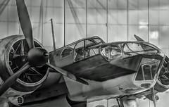 Bristol (STTH64) Tags: bristolblenheim bl200 airforce ww2 war warbird bomber cockpit propeller hub pilot finnish military museum plane airplane classic