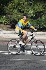 WNBR London 2009: Cycle lanes (pg tips2) Tags: barebottomed barebottom bum male bodypaint paintedgent wnbr2009 2009 london wnbr