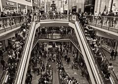 Metropolis (Vide Cor Meum Images) Tags: mac010665yahoocouk markcoleman markandrewcoleman videcormeumimages vide cor meum nikon d750 metropolis fritzlang bullring consumerism shopping adverts advertising shoppingcentres precincts mall