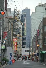 nagoya15663 (tanayan) Tags: town urban cityscape aichi nagoya japan nikon j1    road street alley