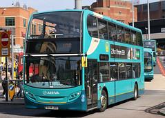 4593 SL64 JDZ (Cumberland Patriot) Tags: arriva north west on merseyside in liverpool alexander dennis trident ii adl enviro 400 e400 4593 sl64jdz low floor double decker bus buses