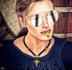 Spice wearing Boutique 187 Angel & Devil Pearl Septum @ Fluffy & Fierce - Tongue Pin it @ The Black Dot Project - Retro Glasses @ Cosmopolitan and FashionNatic Corsar Male Necklace (Two Too Fashion) Tags: secondlife secondlifemodel boutique187 fashion fashionnatic corsarmalenecklace angeldevilpearlseptum tonguepinit retroglasses glasses fashionoutfit malenecklace septum pinit malemodel malefashion fluffyfierce cosmopolitan theblackdotproject