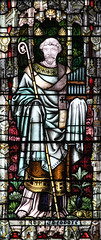 St Theodore of Canterbury (Lawrence OP) Tags: canterbury cathedral stainedglass archbishop saint theodore chapter house