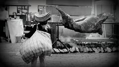 hungry...!? (Henrik Bidstrup Jrgensen) Tags: copenhagen summer citywalks cph kbenhavn olympus e510 monocrome sorthvid contrasts food mad fattig mennesker people grill braii cooking