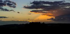 Thank you... (neerod81) Tags: himmel sonne sonnenstrahlen sonnenuntergang wolken clouds colorful friends hope light rays sky sun sunset