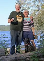 1201 (Jean Arf) Tags: trumansburg ny newyork summer 2016 cayuga lake kevin joanne annie dog