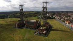 Clipstone Colliery (Sam Tait) Tags: clipstone colliery nottinghamshire england pit derelict abandoned king coal mine industrial neglect ariel uav dji phantom 3