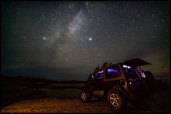 jeep (Graham M Green) Tags: jeep milkyway offroad