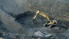 Pittsburgh Coal Seam (Video) (Photons of Days Past) Tags: cabinrunroad surfacecoalmine alleganycounty maryland frostburg canoneos6d ef70300mmf456isusm canoneos7d cat pittsburghcoalseam bigvein video
