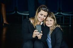 Selfie for the hashtag (Melissa Maples) Tags: copenhagen denmark europe nikon d5100   nikkor afs 18200mm f3556g 18200mmf3556g vr operahouse operaen black blondes mother daughter child woman danes camilla selfie sofie girl