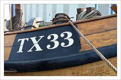 Blazer boat TX33 (macfred64) Tags: film analog 35mm 135 transparency diapositive slidefilm fujiprovia100f nikonf4 nikkoraf3570mmf28 blazertx33 blaterboat vintagesailingvessel