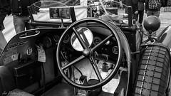 Historic Grand Prix Zandvoort 2016 (lex_visser) Tags: circuitparkzandvoort zandvoort historicgrandprix2016 steeringwheel zwartwit