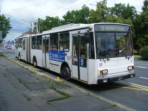Ceske Budejovice trolleybus No. 32