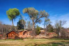 Sedona, Arizona. (Mile 24 Travel Media) Tags: sedona arizona desert southwest america usa tourism travel photography redrocks redrockcrossing mill wheel barn nature