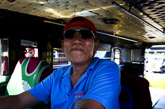 Jeepney (12) (momentspause) Tags: ricohgr ricoh manila man filipino philippines jeepney travel person