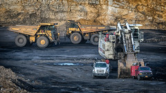 CATs Pass (Photons of Days Past) Tags: cabinrunroad surfacecoalmine alleganycounty maryland frostburg canoneos6d ef70300mmf456isusm terex rh120e