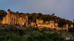 In The Ghost Light (Tim van Zundert) Tags: gwrych castle ruin abergele conwy llandudno north wales derelict abandoned country house night evening long exposure sony a7r voigtlander 21mm ultron