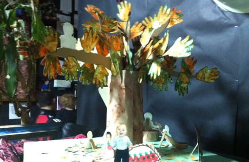TREE BY SOME OF THE RAINFOREST LEARNING CENTER'S YOUNGEST ARTISTS