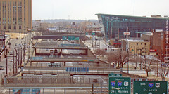 I-670 in Downtown KC, 12 Jan 2012 (photography.by.ROEVER) Tags: sign loop january kansascity freeway interstate expressway kc kcmo downtownkansascity 2012 i670 downtownkc downtownloop interstate670 january2012