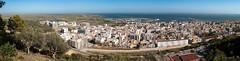Panorama de Sant Carles de la Ràpita y el Delta de l'Ebre (Joaquim F. P.) Tags: deltadelebro octubre panorama panorámica portdelsalfacs santcarlesdelaràpita catalunya cataluña tarragona jfp costadorada salou costadaurada panoramica multiexposicion ps mediterranean goldencoast