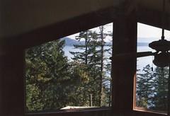 (spitting venom) Tags: trees windows light canada film 35mm nikon britishcolumbia pacificnorthwest saltspringisland ceilingfan britishcolumbiacanada nikonfm saltspringislandcanada
