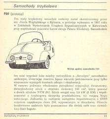 1957 P80 250 prototype (Hugo-90) Tags: auto car antique poland prototype vehicle microcar minicar pl p80 samochody osobowe trzykolowe
