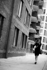 2012 10 09 - 6234 - DC - P St Candids (thisisbossi) Tags: urban blackandwhite bw usa washingtondc blackwhite dc women published nw unitedstates northwest cities blogs midcity candids alleys pstreet ggw streetcandids ward2 greatergreaterwashington