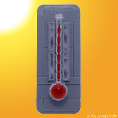 LEGO Thermometer (bruceywan) Tags: lego temperature thermometer photostream moc ironbuilder brucelowellcom ironbuilder2 ibbl2
