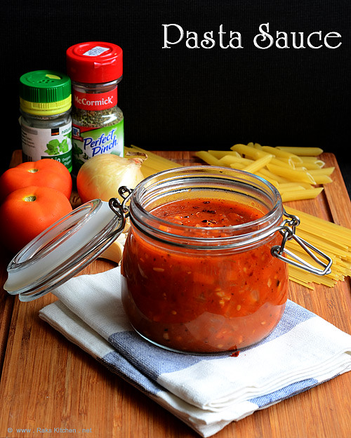 Pasta-sauce-recipe-step by step pictures
