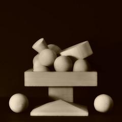 natura morta con legnetti (Proprionegato) Tags: wood stilllife nikon sphere cube cylinder cubo legno naturamorta sfera cilindro bestcapturesaoi theauthorsplaza elitegalleryaoi