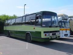 Barratt A706GPR Leicester (Guy Arab UF) Tags: bus buses coach derbyshire independent 1983 3200 coaches paramount swanwick daf barratt plaxton mb200 a706gpr